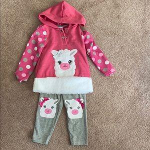 Nanette Kids Llama Outfit - NWOT
